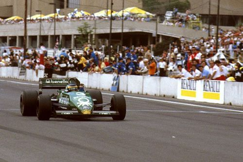 Alboreto delivers to Uncle Ken one last F1 win
