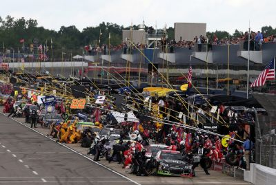 NASCAR - FireKeepers Casino 400 - Les emplacements dans les stands