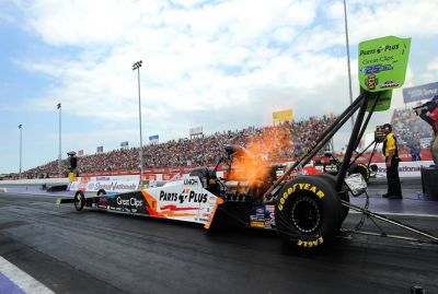 Dragster - Avantage Clay Millican après les qualifications