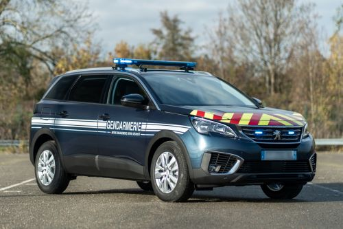 Peugeot 5008. Photos officielles des versions police et gendarmerie