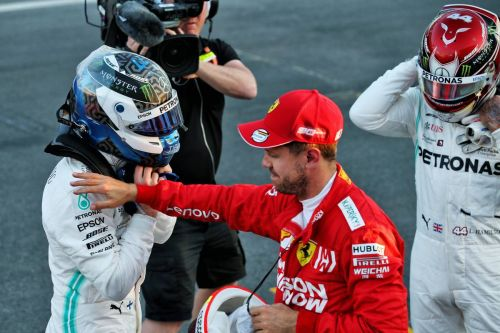 'Valtteri did an exceptional job' for pole, says Hamilton