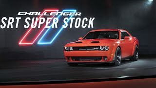 2021 Dodge Challenger SRT Super Stock, fille de Demon