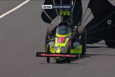 Dragster - Le sauvetage de Troy Coughlin Jr en Top Fuel