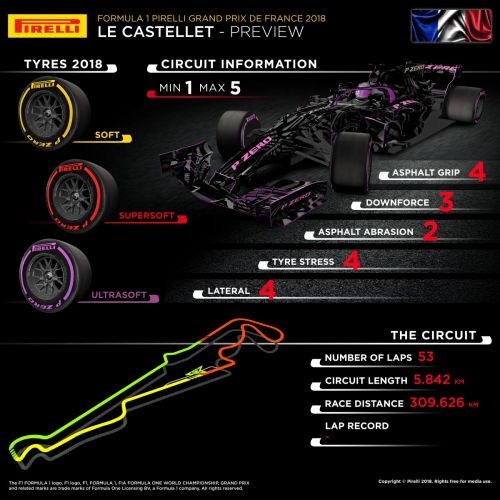 In a nutshell: which tyres for the French GP?