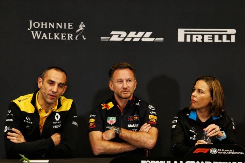 Rival F1 bosses line up against Ferrari's veto power
