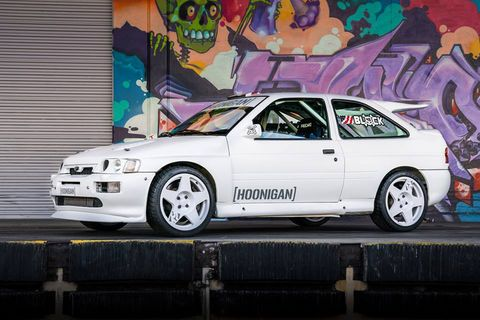 Ken Block s'offre une Ford Escort RS Cosworth