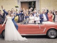 La Ford Mustang, voiture star des mariages