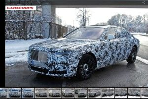La future Rolls-Royce Ghost (2021) aperçue en test