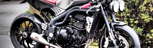 Triumph 1050 Speed Triple cafe-racer:  bad vibrations