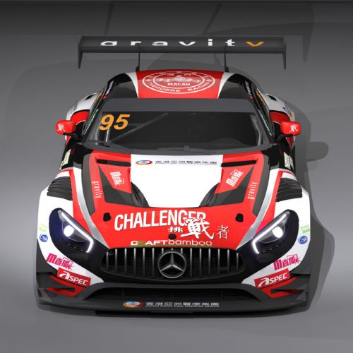 Macau GP:  une Mercedes-AMG GT3 pour Craft-Bamboo Racing