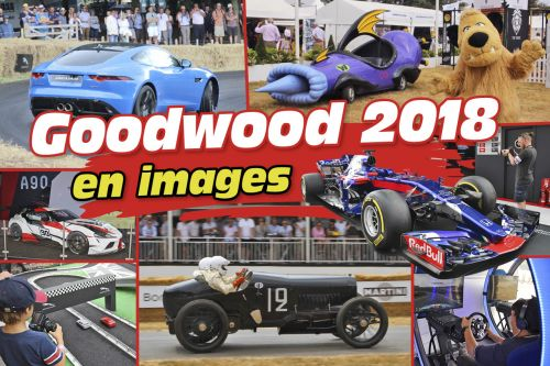 Le Festival of Speed de Goodwood 2018 en images