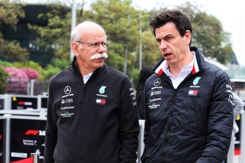 Wolff praises Zetsche for unwavering support through thick and thin