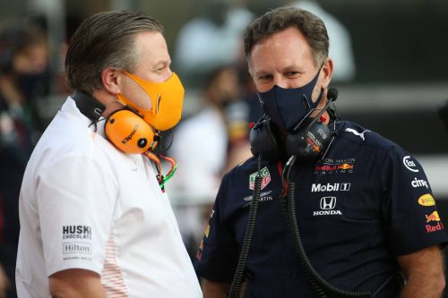 Helmut Marko says Red Bull 'had talks' with Norris