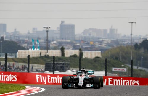 Japon - Qualifications:  80ème pole position pour Lewis Hamilton, Ferrari se noie