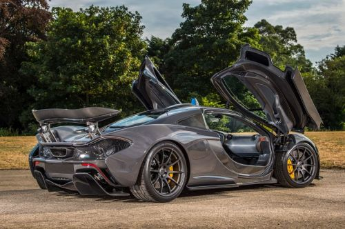Become the cool owner of Jenson Button's McLaren P1!