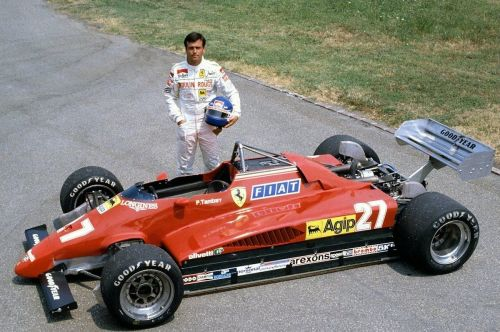 A salute on this day to Patrick Tambay