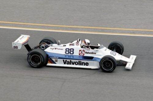 A Williams finds its way to the grid of the Indy 500