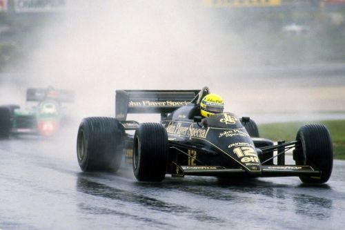 When it rained for Senna, it poured for his rivals