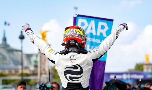 Paris E-Prix: Virgin Racing's Frijns emerges from the chaos