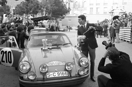 When 'Quick Vic' left the specialists behind in Monte Carlo