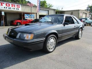 1984 Ford Mustang SVO, downsizing des années 80