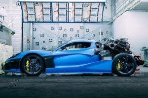 La Rimac C Two (2020) n'échappe pas au crash-test