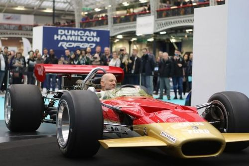 We wish a good one to Adrian Newey, OBE