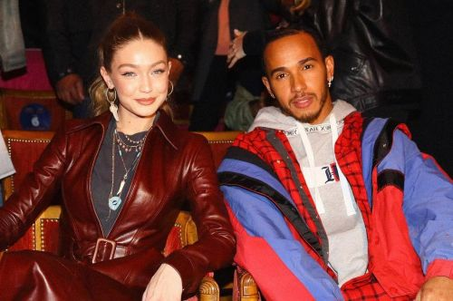The new Spiderman takes his seat at Fashion Week