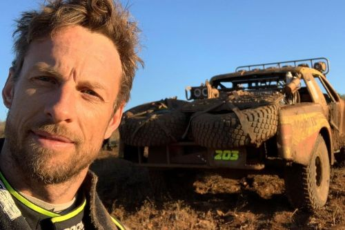 Button gets stranded in the Baja desert