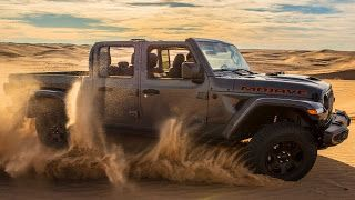 2020 Jeep Gladiator Mojave, premier Jeep Desert Rated