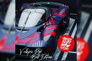 Aston Martin Valkyrie (2019): une édition Red Bull