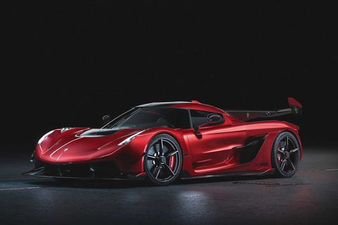 Koenigsegg Jesko Cherry Red Edition