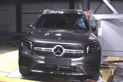 Le Mercedes GLB (2019) reçu 5/5 aux crash-tests