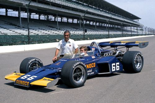 The first of Roger Penske's seventeen Indy 500 wins