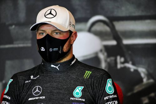 Bottas 'shaking' after snatching Imola pole from Hamilton