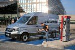 E-Crafter:  le grand fourgon VW « zéro émission »