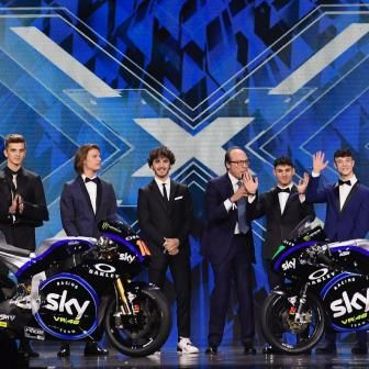 Le Sky Racing Team VR46 version 2019 s'invite à X Factor