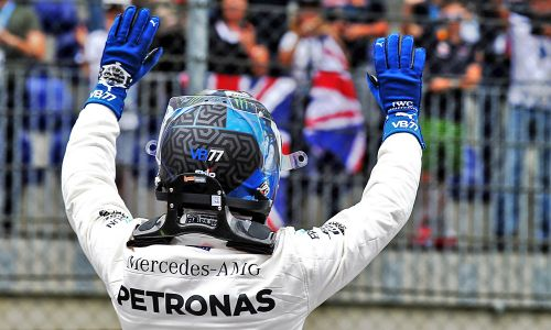 Bottas 'hungry' to taste victory again in Austria