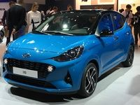 Hyundai i10:  craquante - en direct du salon de Francfort 2019