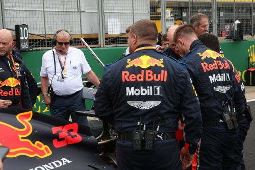 Red Bull grid drama sparked by cracked rear wings!