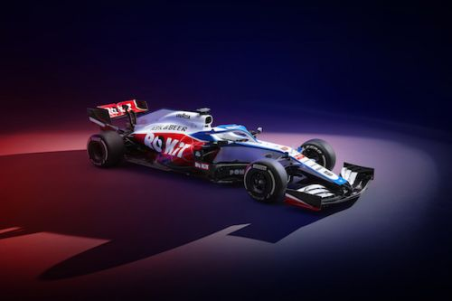 Formule 1:  Williams change totalement de livrée en 2020
