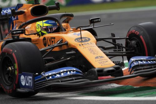 Norris not worried by Renault's impressive Monza pace