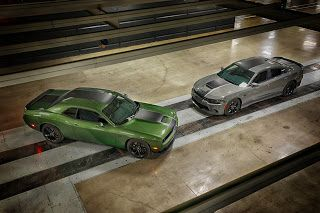 New York 2019, 2019 Dodge Charger et Challenger Stars & Stripes