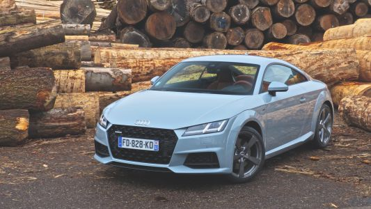 Essai Audi TT 45 TFSI 20 Years:  birthday girl