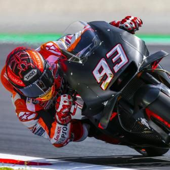 Márquez domine le Test post-GP à Montmeló