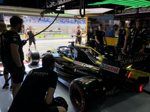 Renault gets a mixed bag of results from qualifying