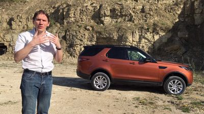 Vidéo:  Land Rover Discovery 5 Td6 HSE
