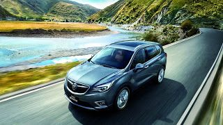 2019 Buick Envision, restylé