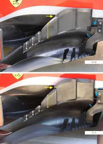 Tech F1i Singapore: Bargeboards push to the fore