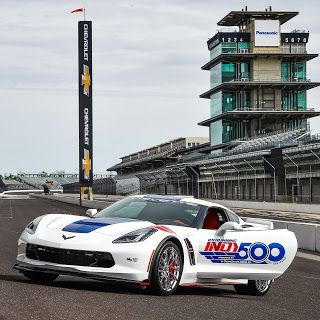 Chevrolet Corvette Grand Sport, pace car de l'Indianapolis 500